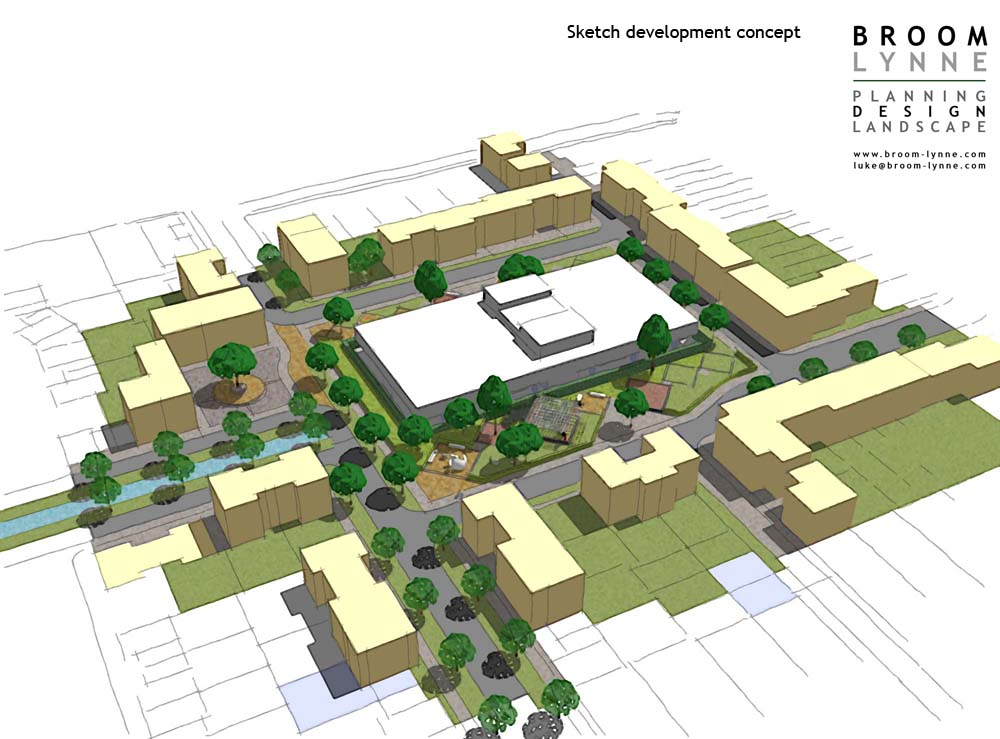 Broom lynne planning design landscape for Concept of housing in architecture